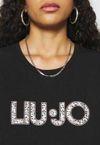 Liu Jo Jeans - Print T-shirt - nero - 4