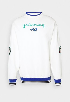 ARCH RIVAL GHETTO LOVE CREWNECK UNISEX - Collegepaita - white