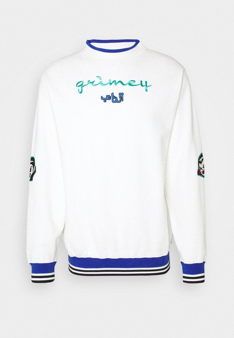 Grimey - ARCH RIVAL GHETTO LOVE CREWNECK UNISEX - Felpa - white