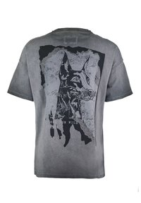 Tigha - Print T-shirt - vintage black - 5