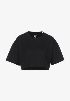 STUDIO CROPPED DAMEN - Sweatshirt - black