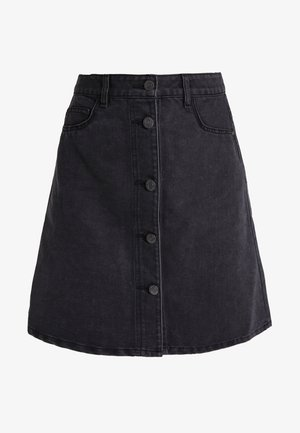 NMSUNNY - A-line skirt - black