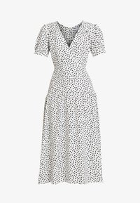 Topshop Petite - WHITE STARLIGHT PRINT DRESS - Day dress - white - 5