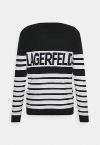 KARL LAGERFELD - CREWNECK - Maglione - black - 1
