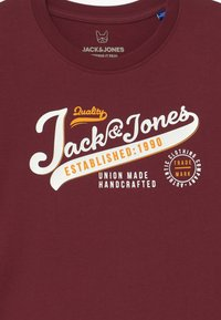 Jack & Jones Junior - JJELOGO - Print T-shirt - port royale - 3
