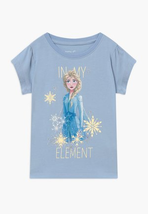 NKMFROZEN TEA - Print T-shirt - blue