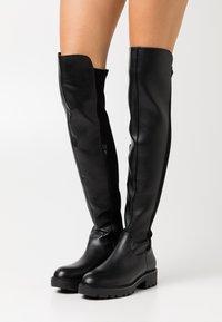 Buffalo - MIREYA - Over-the-knee boots - black - 0