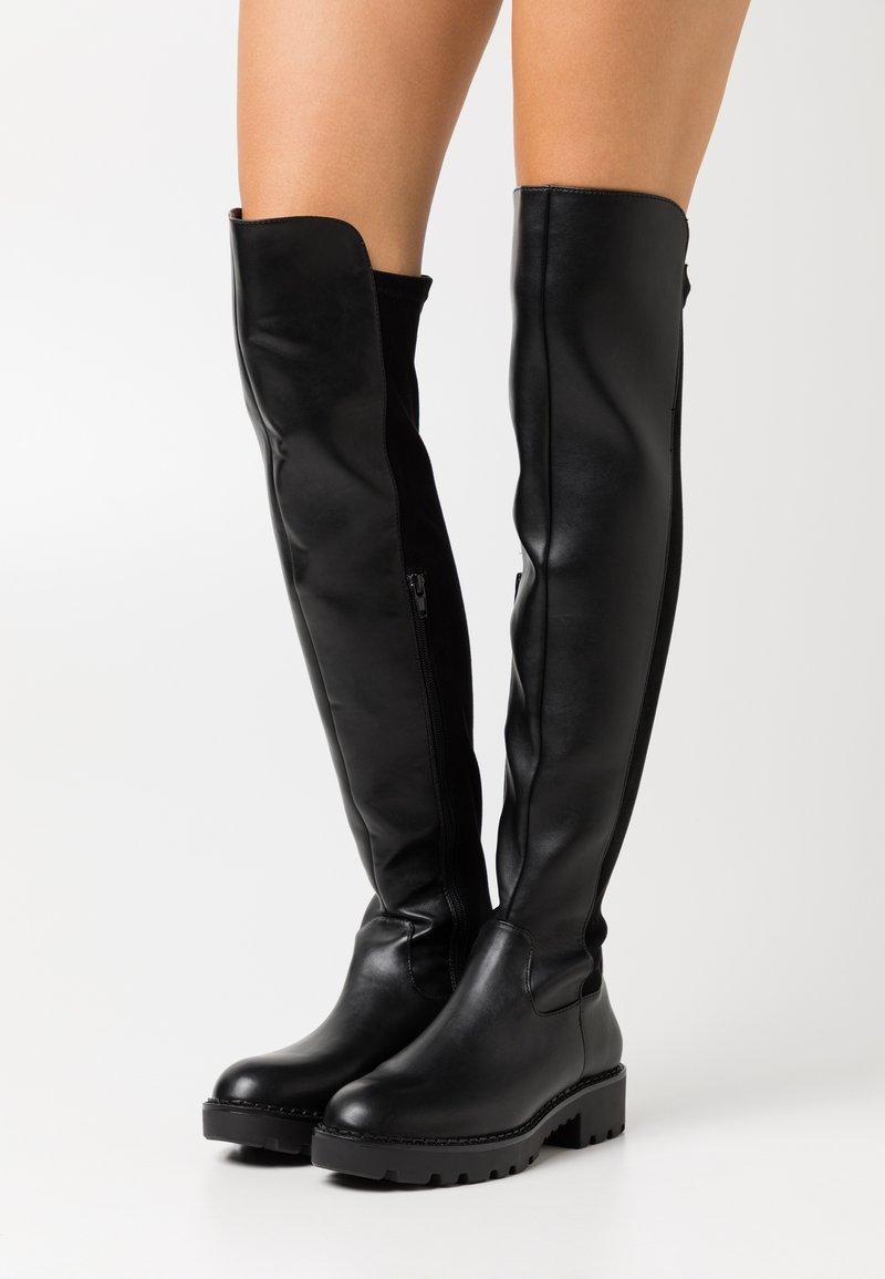 Buffalo - MIREYA - Over-the-knee boots - black
