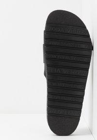 Vero Moda - VMMILLA  - Slippers - black - 6