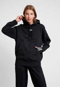 adidas Originals - HOODIE - Sweat à capuche - black - 0