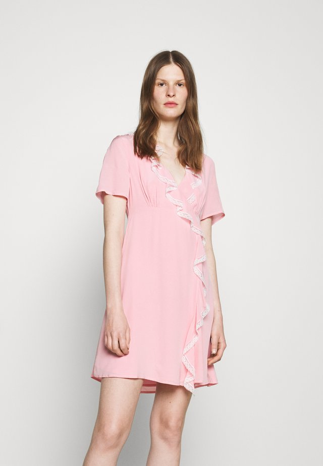 RUFFLE DRESS - Day dress - pink