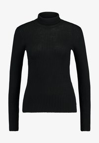 Selected Femme - Strikkegenser - black - 4