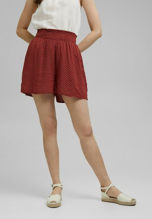 FASHION - Shorts - terracotta