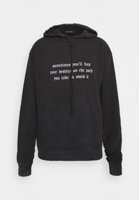 Night Addict - GOTH - Hoodie - acid wash - 4