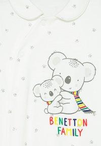 Benetton - UNISEX - Sleep suit - white - 2
