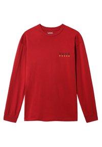 Vans - VICTORY - Print T-shirt - cardinal - 0