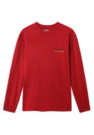 VICTORY - Print T-shirt - cardinal