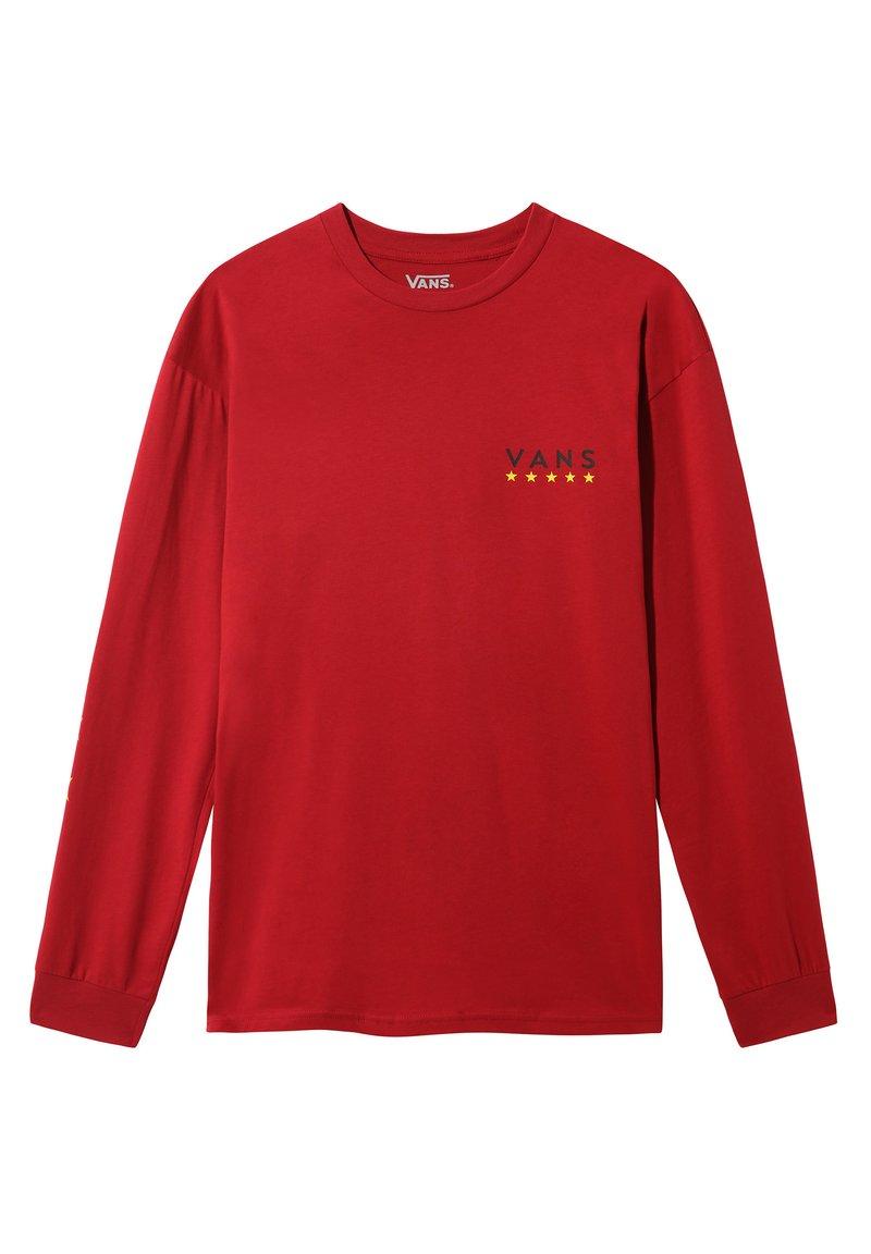 Vans - VICTORY - Print T-shirt - cardinal