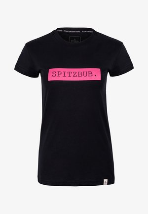 MARTINA - T-shirt print - black