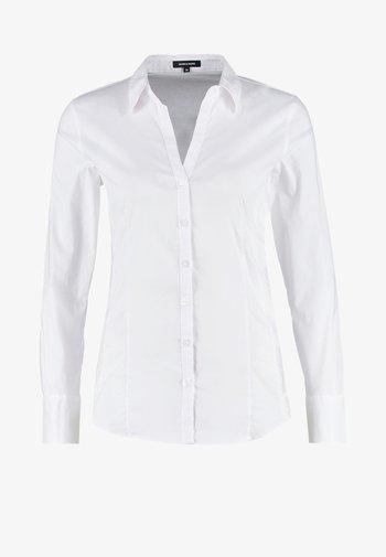 BLOUSE BILLA - Button-down blouse - white