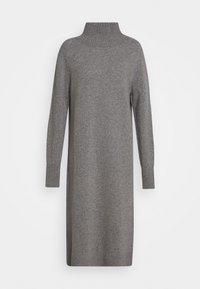 CLOSED - WOMEN´S DRESS - Jumper dress - grey heather melange - 0