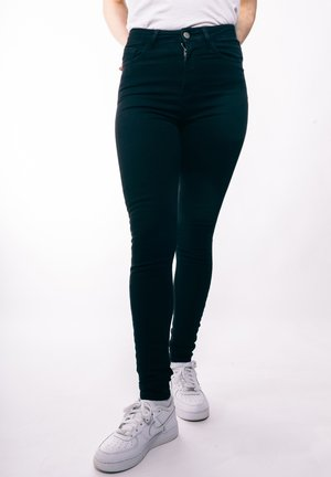 HIGH WAISTED - Jeans Skinny Fit - blackdenim