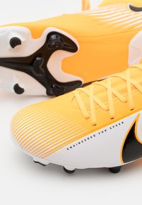 Nike Performance - MERCURIAL 7 ACADEMY FG/MG - Moulded stud football boots - laser orange/black/white - 5