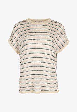 Print T-shirt - gold
