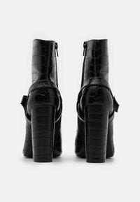 Glamorous - Ankelboots med høye hæler - black - 3
