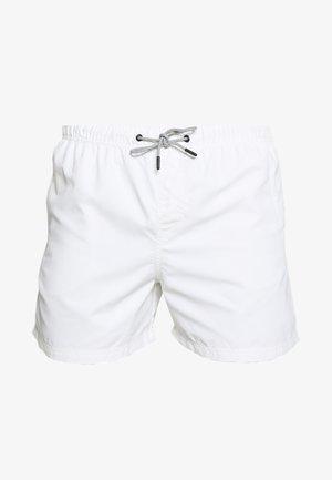 JJIARUBA SWIM  SHORTS - Zwemshorts - white