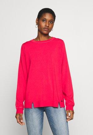 1/1 ARM - Stickad tröja - paradise pink