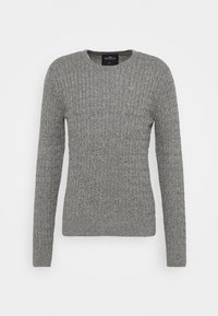 Hollister Co. - CABLE CREW - Pullover - dark grey - 0