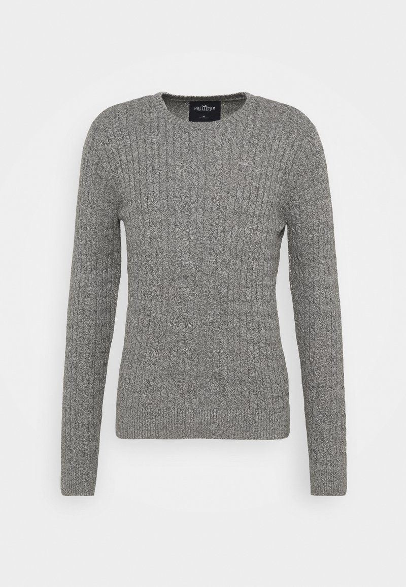 Hollister Co. - CABLE CREW - Pullover - dark grey