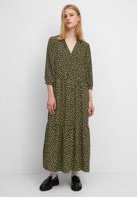 Marc O'Polo DENIM - Maxi dress - multi/burnished logs - 1