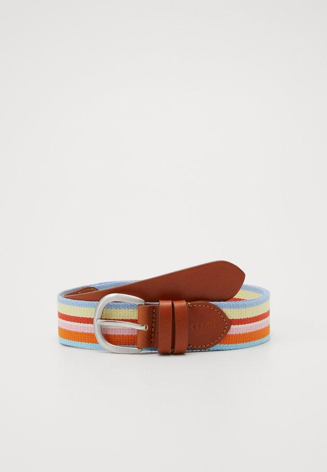 Belt - rust brown