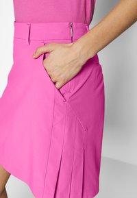 Kjus - IRIS SKORT LONG - Sportovní sukně - pink divine - 3