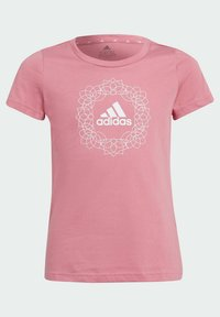 adidas Performance - Print T-shirt - pink - 2