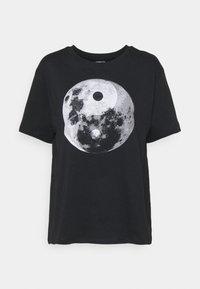 Even&Odd - T-shirt con stampa - black - 4