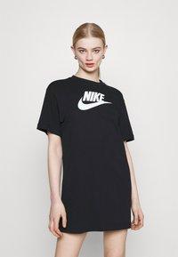 Nike Sportswear - DRESS FUTURA - Vestido ligero - black - 0
