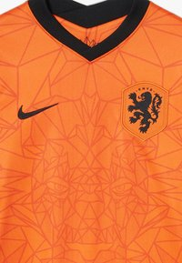 Nike Performance - NIEDERLANDE KNVB Y NK BRT STAD SS HM - Oblečení národního týmu - safety orange/black - 4
