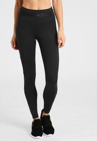 Daquïni - MOTO - Leggings - Trousers - black - 0