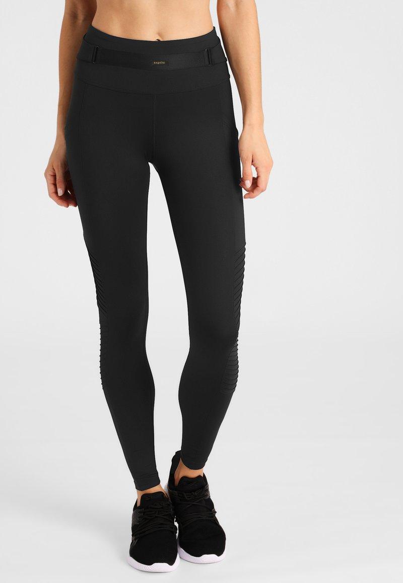 Daquïni - MOTO - Leggings - Trousers - black