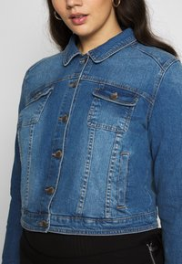 CAPSULE by Simply Be - WESTERN JACKET - Denim jacket - blue - 5