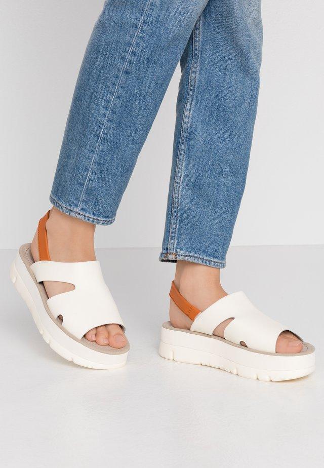 ORUGA UP - Sandals - light beige