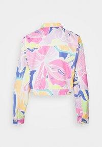 Jaded London - CROPPED JACKET - Denim jacket - multi-coloured - 1