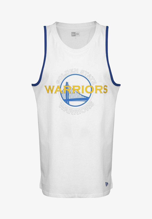 NBA GOLDEN STATE WARRIORS - Club wear - optic white