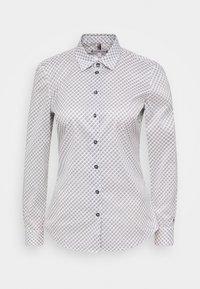 Tommy Hilfiger - BRITTANY SLIM PRINT - Button-down blouse - white/desert sky - 0