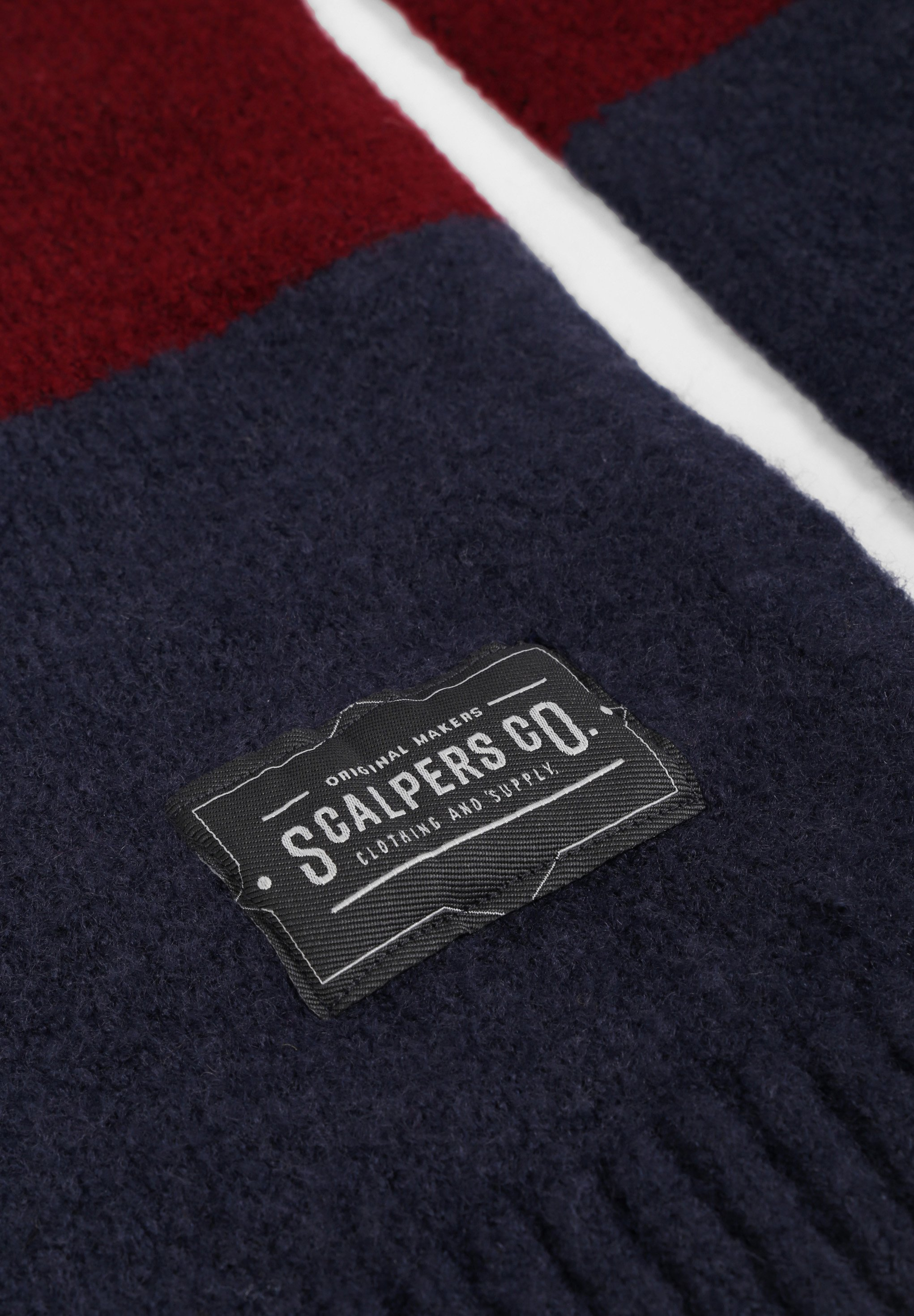 Scalpers Schal - navy/dunkelblau - Herrenaccessoires QEcjJ