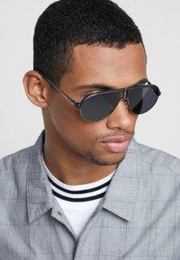 Carrera - Sunglasses - matt black/dark ruthenium - 1