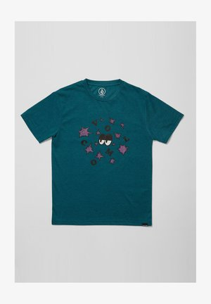 STELLARY HTH SS - Print T-shirt - spruce_green